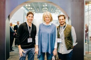 I attended VinExpo with Zac Brandenberg, co-founder and CEO of DRINKS, and our own Thomas Joseph, director of food development. (Photo by Brandon Bibbins of DRINKS)