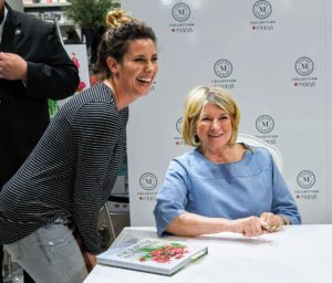 I always try to take photos with guests after signing their books - I love meeting all the people and hearing their stories of how I've inspired them over the years. (Photo by Kent Miller)