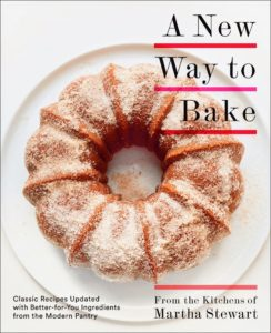 """A New Way to Bake: Classic Recipes Updated with Better-For-You Ingredients from the Modern Pantry"" was released last year - do you have a copy? It is a must-have for every baker. It includes 130-recipes featuring bold new flavors that make some of your favorite, most indulgent treats more healthy."