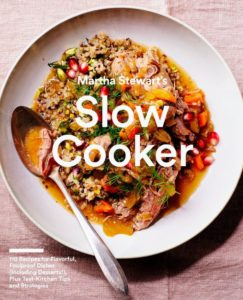 "Another popular book is ""Martha Stewart's Slow Cooker: 110 Recipes for Flavorful, Foolproof Dishes (Including Desserts!), Plus Test- Kitchen Tips and Strategies"". Mother's Day is coming up - this is a great book for busy moms looking for easy ways to put great meals on the table."