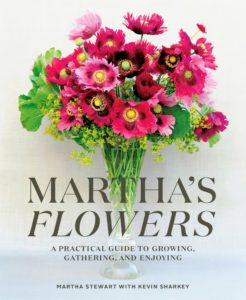 "Now you can go to one place to find my books. Among the first ones we're selling is my latest and 90th book, ""Martha's Flowers: A Practical Guide to Growing, Gathering, and Enjoying"" – it gives lots of expert advice and lessons on gardening and making the most of your blooms."