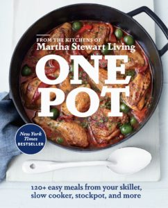 """One Pot"" is filled with more than 120 healthy and delicious recipes you can make using just one pot. It teaches how you can stew, steam, sauté, simmer, braise or roast your way to a fuss-free meal in minimal time with very little cleanup!"
