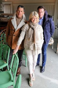 Here I am with my friends, Stefano Tonchi and his husband, David Maupin.