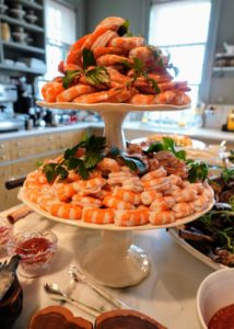 Our shrimp also came from True North - these always go so quickly.