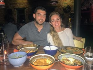 One of their many dinners was at the Gold Restaurant in Cape Town, where they served a 14-course Cape Malay and African tasting menu.