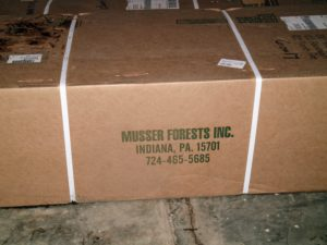 Musser Forests, Inc. was established in 1928. Every year, Musser produces more than 35 million conifer and hardwood seedlings and transplants - plus, ground covers, landscaping shrubs, perennials and ornamental grasses. They offer one of the broadest selections of plant material available from one nursery.