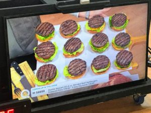 From my Gourmet Foods Collection - delicious burgers! My burgers come in a box of 12 six-ounce blended beef patties - just in time for those spring time cookouts.