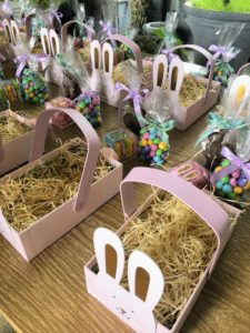 These boxes from Sugarfina were perfect for our egg hunt.