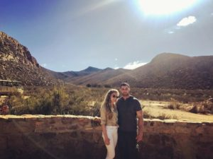 Here they are at the Aquila Game Reserve, an 11-thousand acre private nature reserve nestled in the Karoo mountains.