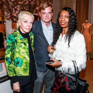 Here is my friend and interior designer, Stephen Sills, with Nathalie Pinto and Erica Cole. (Photo by Neil Rasmus/BFA.com)