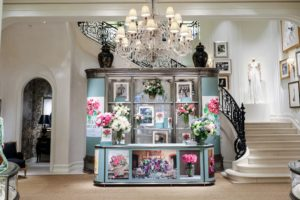 The display set up at the first floor vitrine was simply amazing - the team at Ralph Lauren did a fabulous job. It was the perfect setting for our book signing. (Photo by Neil Rasmus/BFA.com)