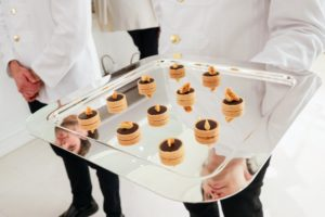 And here are bite-sized chocolate cremeux honeycomb tartlets. (Photo by Neil Rasmus/BFA.com)