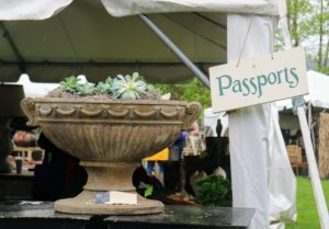 There were many different kinds of antique planters - made from every material known, such as marble, stone, clay and metal. Here is a very large and heavy planter from Passports Antiques. http://www.passportscollection.com/