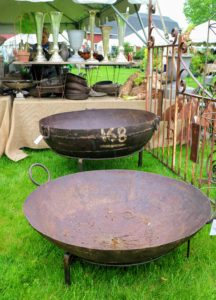 Trade Secrets is also a nice source for other outdoor antiques such as these giant antique fire pits from Marvin Gardens. http://marvingardensusa.com/