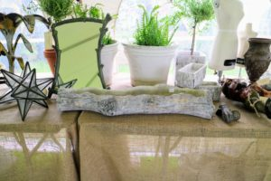 These smaller items are from Plain and Elegant Antiques. They offer larger furniture pieces and outdoor garden ornaments as well as smaller indoor objects. http://www.plainandelegantantiques.com/