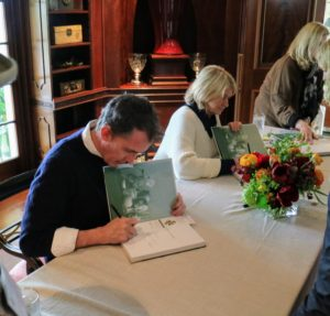 The book signing was scheduled mid-morning, so I was able to do all my own shopping before the event. Kevin and I signed more than 100-books.
