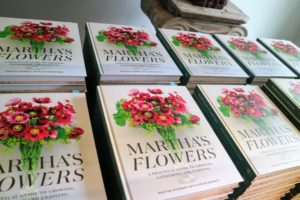 There were also copies available to buy as guests stood in line - it's a great gift for anyone who loves flowers.