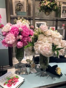 These vessels are filled with peonies, one of my favorite flowers - in white and shades of pink. (Photo by Neil Rasmus/BFA.com)