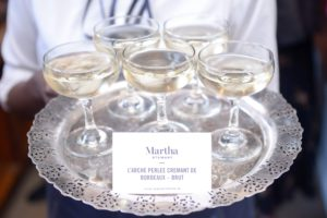 Here is a tray of Martha Stewart wine. Our 2016, Jean Boisselier Bourgogne Aligote has a wonderful floral fragrance. (Photo by Madison Voelkel, BFA.com)