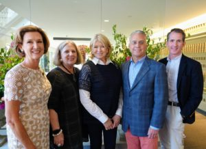 Here, Kevin and I are joined by Meredith Holbrook, President of the Saint Louis Art Museum Friends board, Susan Block, co-chair of the 2018 Art in Bloom celebration, and Brent R. Benjamin, the Barbara B. Taylor Director of the Saint Louis Art Museum.