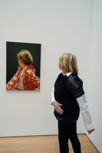 Here I am in front of a Gerhard Richter portrait of a German woman born in 1932 named Betty.
