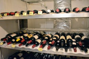 The most special wines in a collection should be kept in places less apt to be disturbed.
