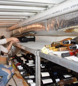 Once stored, try not to move wines - keep them as undisturbed as possible until they are ready to use. Wines are delicate and can break down over time if exposed to a lot of movement or vibration.