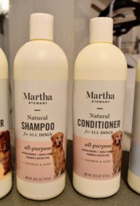 My All-Purpose Natural Oatmeal Shampoo and Conditioner cleanses and moisturizes both the skin and coat. The natural oatmeal and aloe are very gentle and effective on both dogs and puppies.
