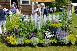 This garden was created by Norwood Evening Garden Club in Norwood, Massachusetts. (Photo courtesy of The Preservation Society of Newport County)
