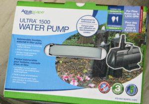 This Aqua Scape conversion kit water pump has a durable prefilter cage design that prevents clogging and reduces pump maintenance. www.aquascapeinc.com/