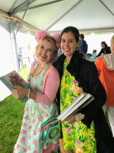 "Here are two guests who bought multiple copies of ""Martha's Flowers"" - it makes a great gift."