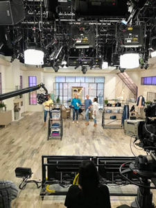 "I was at QVC all day to talk about QVC's ""TSV"" - today's special value items. On these TSV days, we showcase the featured products all day long, so I was on-air from early in the morning until late at night."