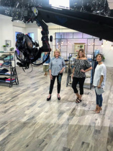I modeled several of the outfits myself - everything is so comfortable and properly sized. And during the shows, so many of you called in saying how much you love my apparel line on QVC - it was so nice to hear.