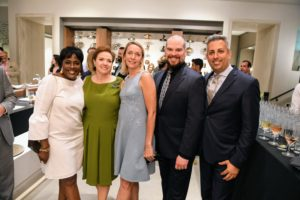Here is the Kohler Stores Team - Megon Hill, Margaret Powers, Michelle, David Doyle, and Sal Cianciolo. (Photo by Sean Sime)