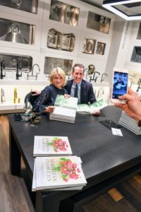 "Kevin and I have had so much fun at these book signings. ""Martha's Flowers"" has gotten a wonderful response and we are so proud of the book. (Photo by Sean Sime)"