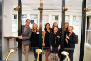 Our Meredith team worked very hard to put the event together. Here are Special Projects Editor, Anthony Luscia, Associate Marketing Director, Olivia Spadafore, Creative Director, Lisa Kim, Brand Director, Emily Payton, Senior Marketing Manager, Mara Van Geldern, Ad Sales/Marketing Coordinator, Kelcy Carlson, and PR Manager, Liz Malone. (Photo by Sean Sime)