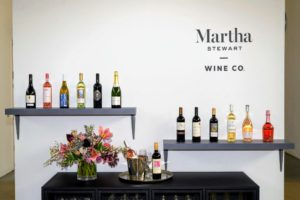 And, of course, I talked about my Martha Stewart wines. My holiday wines come with gift bags for easy giving. You can order 12-bottles with six red and six white, or a mix of three bottles each of four different wines I selected.