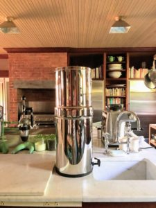 I was so excited about these Berkey Systems, I also brought one to Lily Pond, my home in East Hampton, New York - this will get a lot of use this summer.