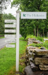 The Hickories is located on a country road just outside the town of Ridgefield, Connecticut. The farm has been growing food for more than 250-years. The Brewster Family acquired the property in 1936 and has been farming the land ever since.