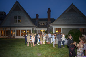 Everyone had a very nice time. To learn more about how you can attend this year's Hampton Designer Showhouse, just click on the highlighted link above. (Photo by Daniel Gonzalez for Business of Home) http://hamptondesignershowhouse.com/