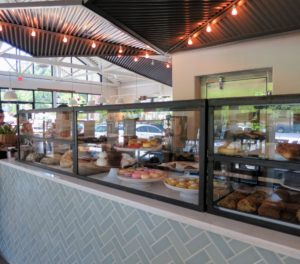 The bakery at Star Provisions carries a variety of freshly baked breads, cakes, cookies, pies, and pastries.