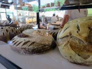These breads looked so delicious - I just had to buy a couple loaves.