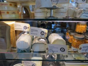 There was also a very nice selection of artisanal cheeses.