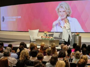 "Margot Shaw, founder and editor-in-chief of ""Flower Magazine"" welcomed everyone to the discussion and introduced me."