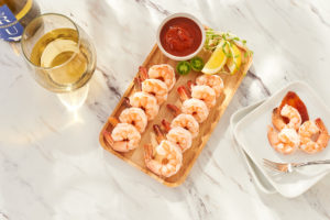 "And, it's never too early to start planning for the holidays - especially if you're hosting a party for family and friends. This is one of the items I will be offering tomorrow during our ""Christmas in July"" show. It's my shrimp cocktail - so delicious for any gathering."