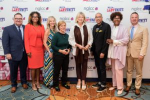 In this photo, I am with NGLCC's Co-Founders and Board of Directors. (Photo by Rachel Stevenson/OUTCOAST Photography)