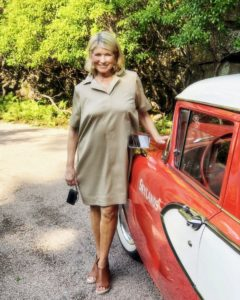 Here I am in the front circle driveway with my 1958 Edsel Roundup. It was a warm, but sunny day - perfect for an August birthday celebration. (Photo by Douglas Friedman, Instagram @thefacinator)