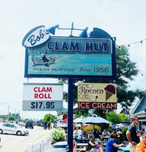Bob's Clam Hut was first established in 1956 before this section of Route-One became so busy. It continues to be one of the most popular seafood stops for both locals and travelers – we love eating here.