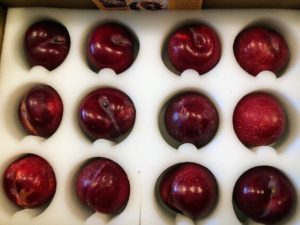 I am also selling pluots from Frog Hollow Farm on QVC - hand picked at the last possible moment to ensure maximum freshness. A pluot is a cross between a plum and an apricot. Put the following shortened URL into your browser to get to the QVC page for ordering. goo.gl/2rXvA6