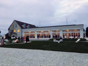 The Belle Mer: A Longwood Venue is a contemporary space surrounded by more than seven acres of manicured lawns - it was a splendid location for the event.